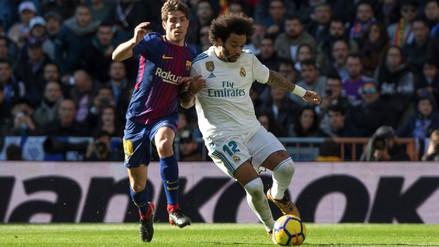 Marcelo publicó un polémico tuit tras la goleada que sufrió Real Madrid