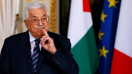 Palestina advierte de que no aceptará ningún plan de paz de Estados Unidos