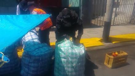 Incautan más de 400 kilos de pirotécnicos durante operativos en Arequipa