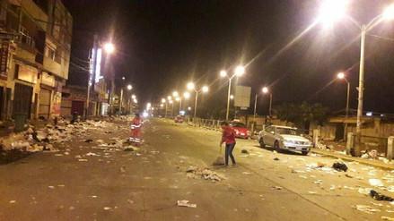 Más de 500 toneladas de basura recogen cada día de avenidas de Chiclayo