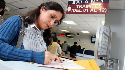 Peruanos que ganen menos de S/2,075 al mes no pagarán Impuesto a la Renta el 2018