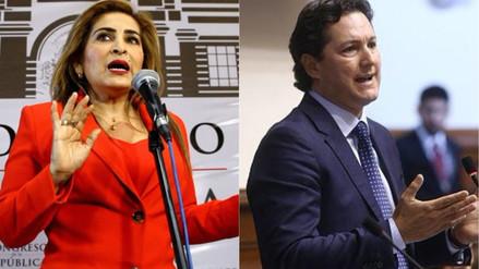 Maritza García le dijo hipócrita a Salaverry por celebrar el indulto a Fujimori