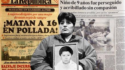 """Madre de niño asesinado en Barrios Altos: """"No es fácil pasar la página cuando aún no puedo olvidar a mi hijo"""""""