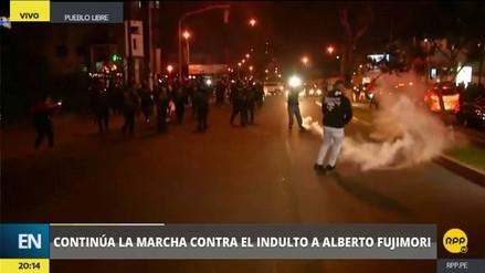 Violentas protestas en rechazo al indulto a Fujimori