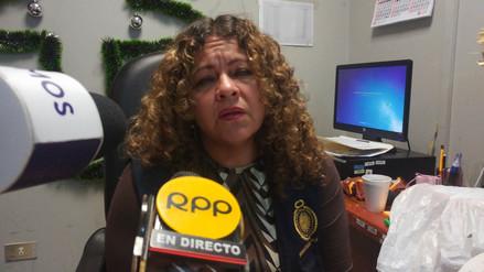 Fiscal Ivon Zarate pidió más apoyo policial para controlar venta de pirotécnicos