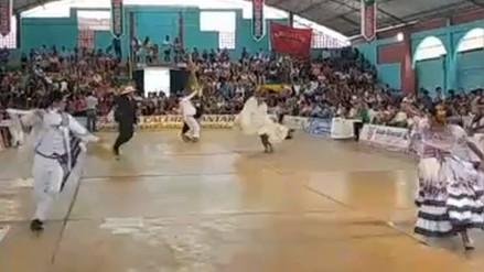 Un centenar de parejas en el concurso nacional de marinera en Íllimo