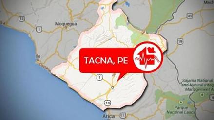 Sismo de magnitud 4.7 se registró en Tacna