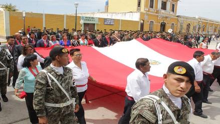 Lambayeque celebró 197 años del Primer Grito Libertario