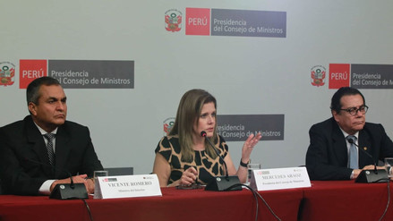 Mercedes Aráoz dijo que Máximo San Román fue cesado de su cargo antes de que renuncie