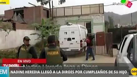 Ollanta Humala y Nadine Heredia se reúnen en prisión para celebrar el cumpleaños de su hijo