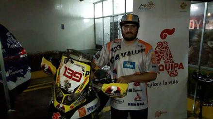 Piloto arequipeño participará del Rally Dakar 2018