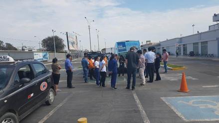 Ejecutan simulacro de sismo en aeropuerto de Chiclayo