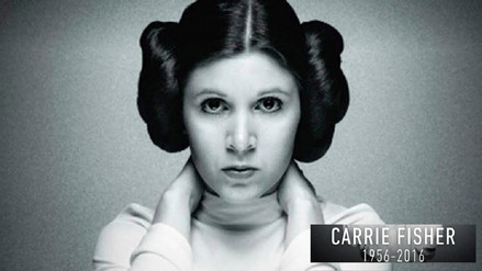 Star Wars: Un año extrañando a Carrie Fisher, la eterna princesa Leia