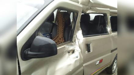 Tarma: una pasajera herida dejó caída de rocas