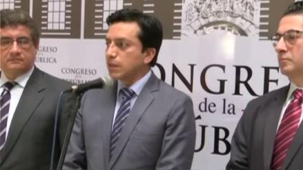 Gilbert Violeta asumirá la vocería de Peruanos por el Kambio