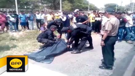 Jauja: tunantero muere tras ser atropellado en Carretera Central