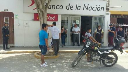 Policía ejecutó simulacros en bancos ante robos por fiestas