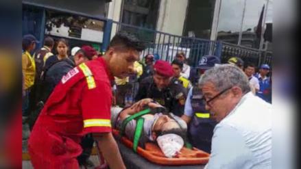 Cercado: Obrero cayó de andamio cuando limpiaba edificio del Ministerio Público