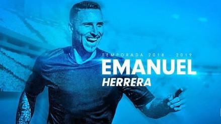 Emanuel Herrea es el nuevo refuerzo de Sporting Cristal
