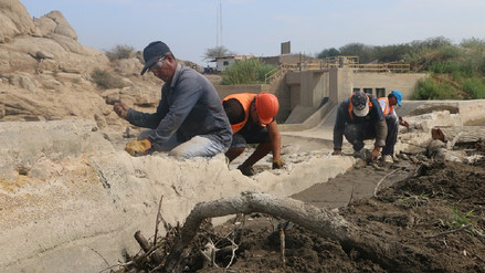 Proyecto Olmos rehabilita infraestructura del valle Chancay-Lambayeque
