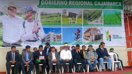 Inestabilidad política afectó gasto presupuestal según Gobernador Regional de Cajamarca