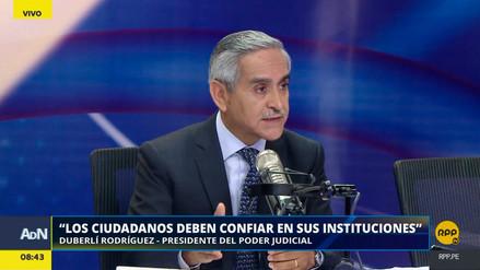 """Duberlí Rodríguez: """"No estoy enfrentado con el juez Concepción Carhuancho"""""""