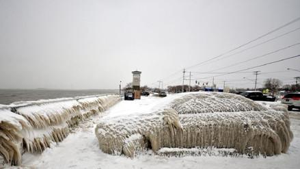 Las postales del crudo invierno que atraviesa Estados Unidos
