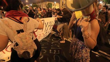 El municipio de Lima denunció daños al patrimonio durante la marcha contra el indulto