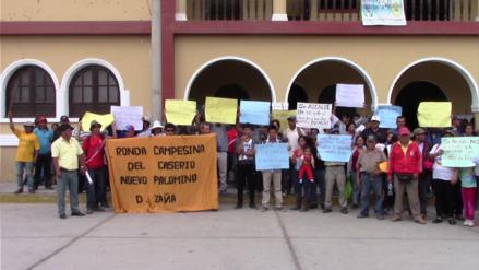 Chiclayo: Pobladores de Zaña protestan en contra del alcalde