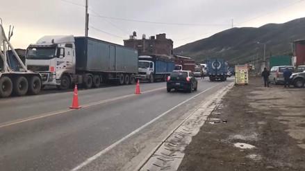 Tránsito por la Carretera Central se encuentra restringido por Año Nuevo