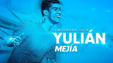 Sporting Cristal presentó al mediocampista colombiano Yulián Mejía