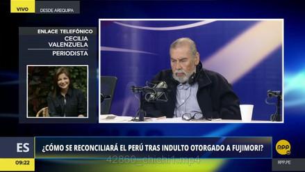 """Cecilia Valenzuela: """"Con el indulto a Fujimori, comienza un nuevo escenario político"""""""