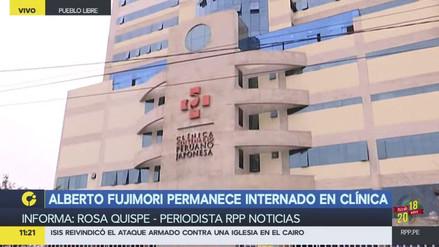 Alberto Fujimori cumplió una semana internado en la clínica