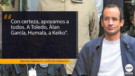 Lo que dijo Marcelo Odebrecht sobre Toledo, García, Humala, Keiko y PPK