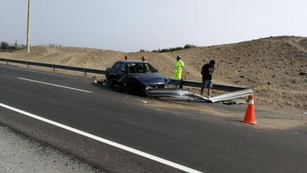 Madre e hija murieron en una accidente de tránsito en Huaura