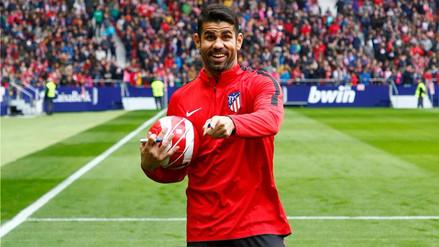 Diego Costa espera anotar goles para ser opción con España en Rusia 2018