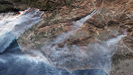 El 2017 desde el cielo: las imágenes satelitales más impactantes del año