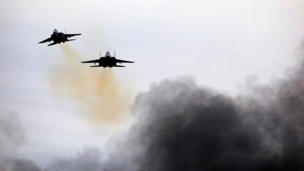 La aviación de Israel bombardeó posición de Hamás en la Franja de Gaza