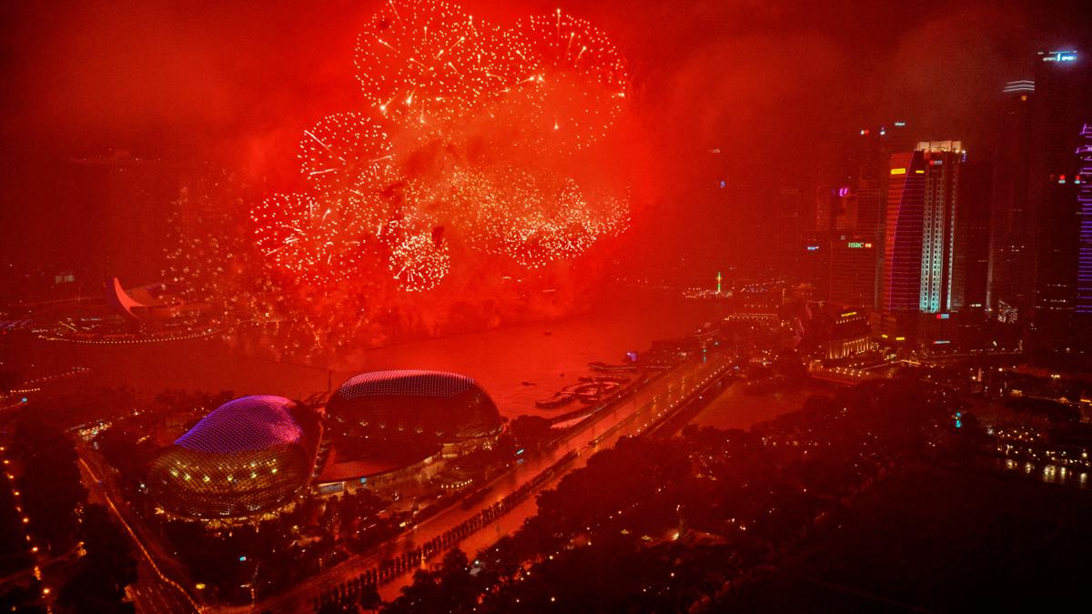 Así se recibió el Año Nuevo 2018 alrededor del mundo