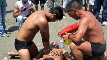 Joven murió ahogado en playa de Camaná durante celebración de Año Nuevo