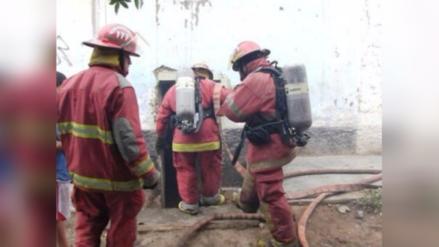 Bomberos atendieron incendios y accidentes en Año Nuevo