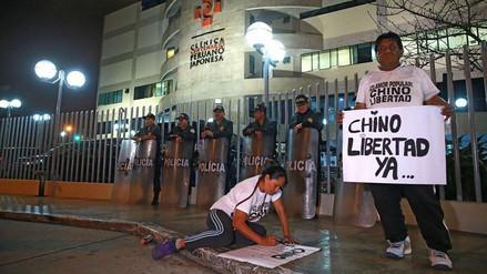 Alberto Fujimori pasó Año Nuevo internado en la clínica