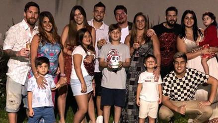 Estrellas del fútbol celebraron el Año Nuevo junto a sus familiares