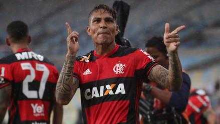 Flamengo saludó a Paolo Guerrero por su cumpleaños 34