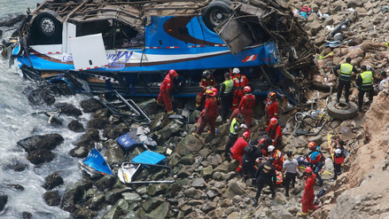La tragedia de Pasamayo en ojos de la prensa internacional