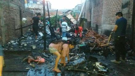 Chimbote: familia integrada por mujeres se salva de morir tras incendio