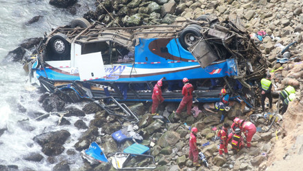 Indecopi investiga si bus accidentado en Pasamayo tenía SOAT
