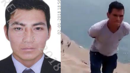 Capturan a hombre robando las pertenencias de víctimas del accidente en Pasamayo