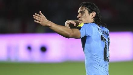 Edinson Cavani dice que Uruguay apunta a