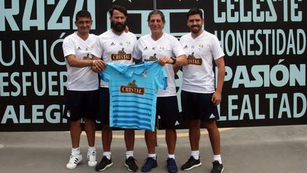Mario Salas fue presentado como nuevo entrenador de Sporting Cristal